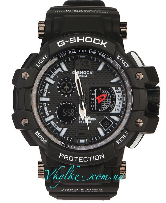 Casio G-Shock GPW-1000 черные с белым