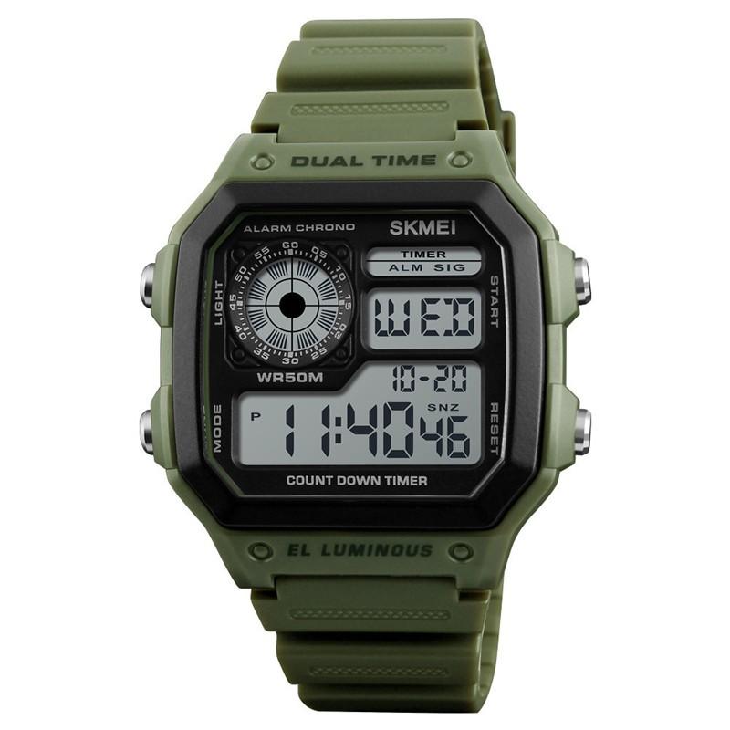 Часы Skmei 1299 Olive