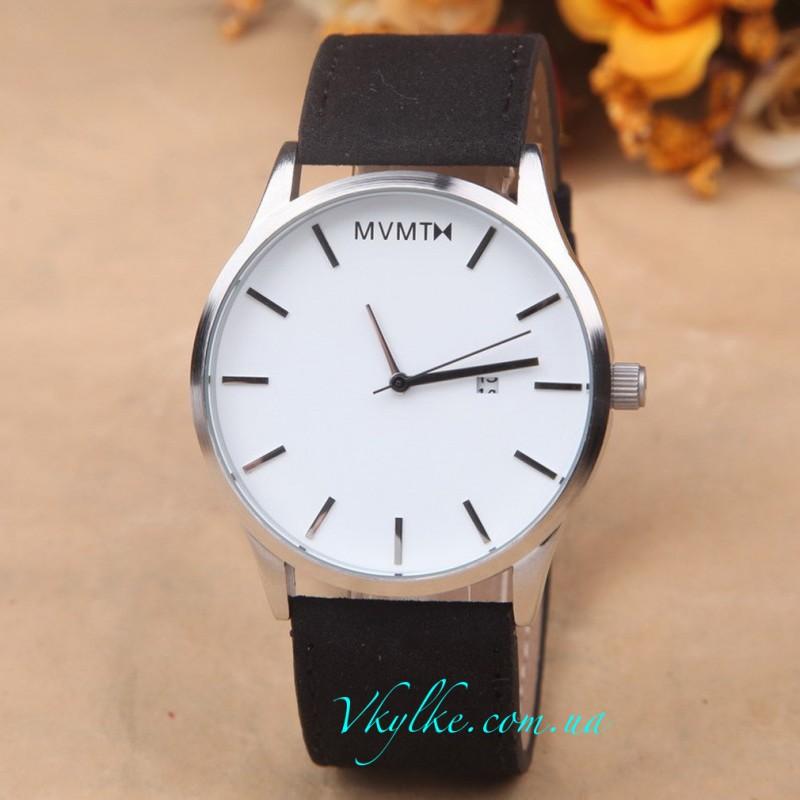 Часы MVMT черные с белым