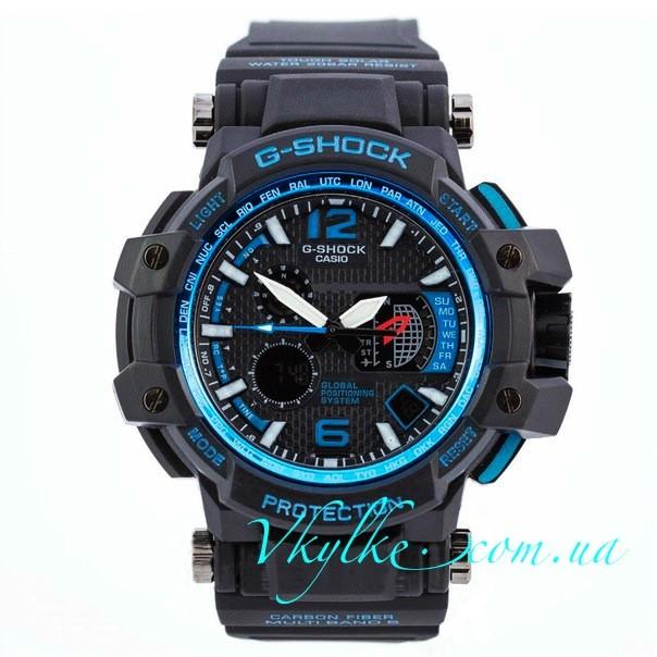 Casio G-Shock GPW-1000 черные с синим
