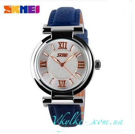 Женские часы Skmei 9075 синие