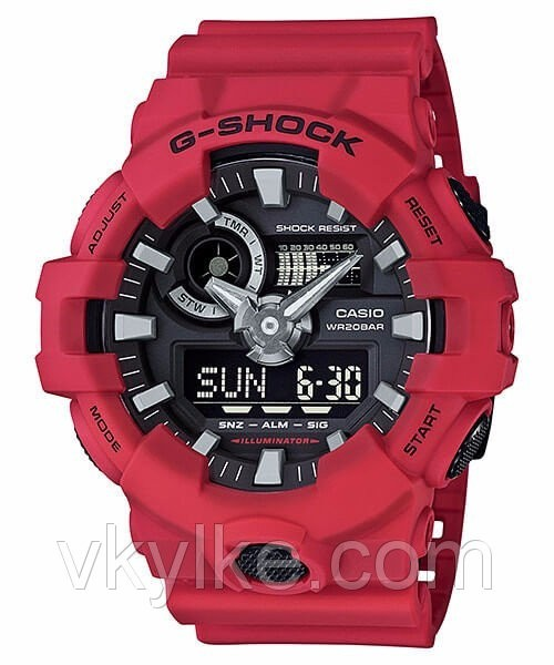 Часы Casio GA-700 Red AAA