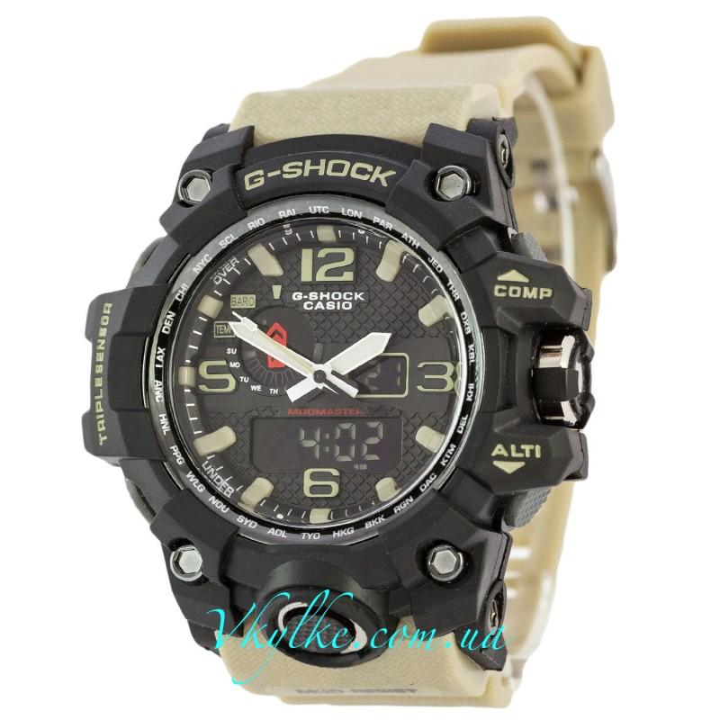 Часы G SHOCK GWG-A1000 MUDMASTER Бежевые